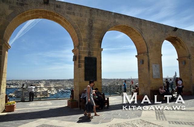 マルタ旅行記 バレッタ観光