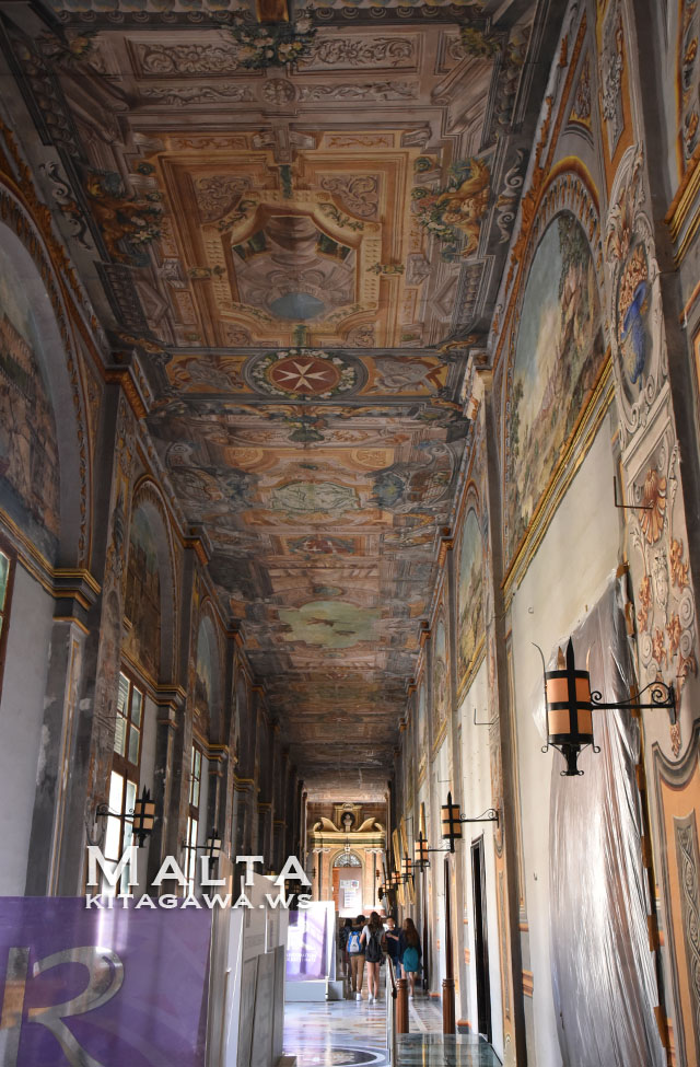 ヴァレッタ 宮殿 マルタ