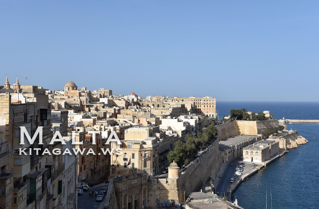 マルタ島バレッタ Valletta, Malta
