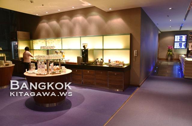 バンコク タイ国際航空 ビジネスクラスラウンジ