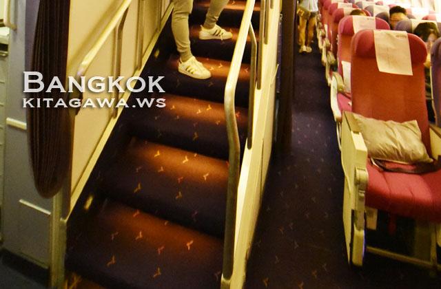 タイ航空 B747-400 ジャンボジェット
