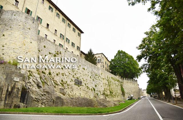 サンマリノ 城壁