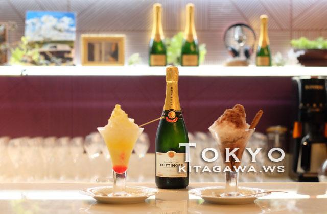 シャンパン・バー かき氷
