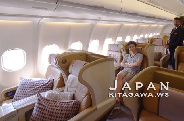 シンガポール航空ビジネスクラス搭乗記