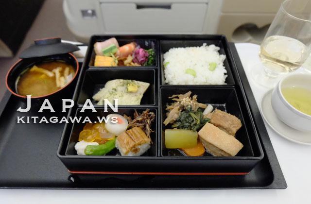 シンガポール航空ビジネスクラス和食