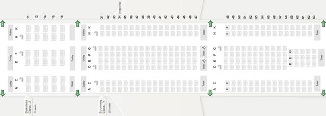 シートマップ 座席表