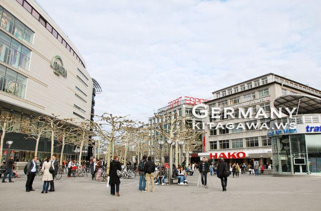 ドイツ旅行記 フランクフルト観光
