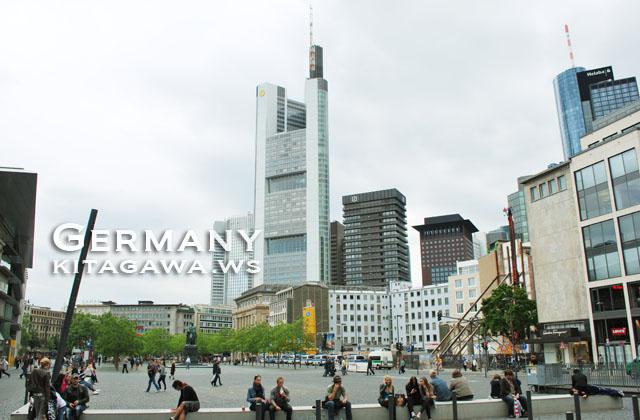 ゲーテ広場 Frankfurt Goetheplatz