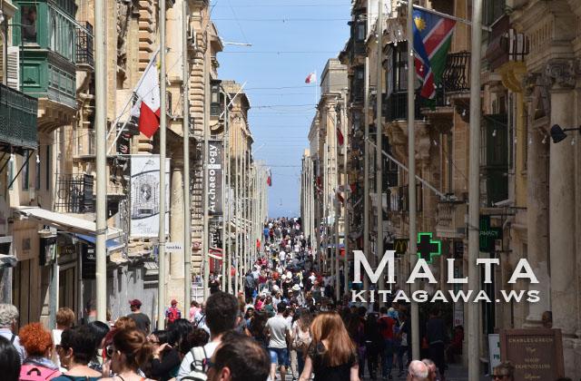 マルタ旅行記 ヴァレッタ観光