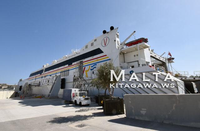 マルタ イタリア シチリア 船 フェリー