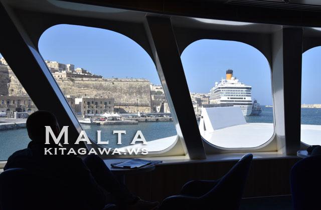 マルタからシチリア 船