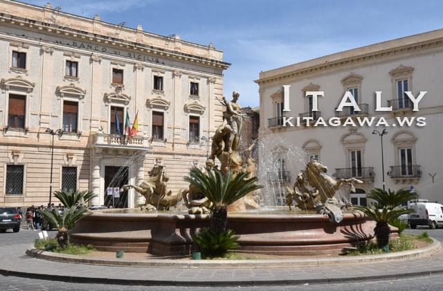 アルキメデス広場 Piazza Archimede