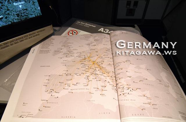 ルフトハンザ 路線図