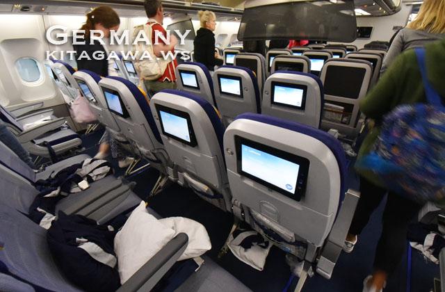 ルフトハンザ航空エコノミークラス搭乗記