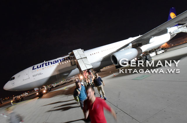 ルフトハンザ航空A340フランクフルト行きエコノミークラス搭乗記