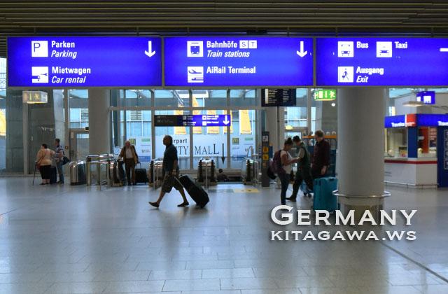 ドイツ フランクフルト空港 FRA