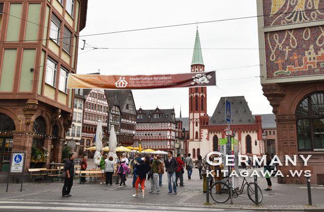 ドイツ旅行 フランクフルト観光