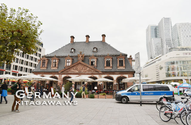 ハウプトバッヘ Café Hauptwache