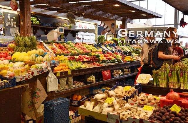 屋内市場 Kleinmarkthalle クラインマルクトハレ