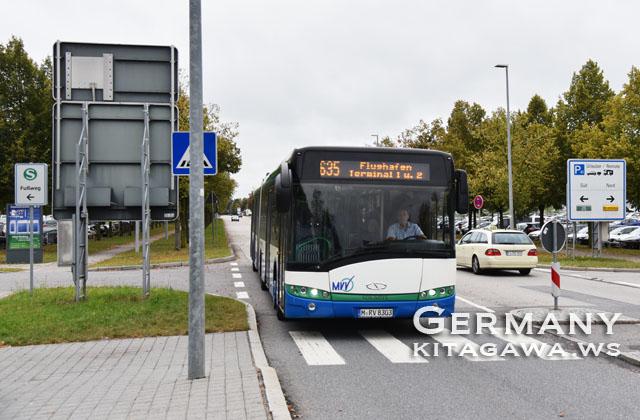 ミュンヘン エアポートバス