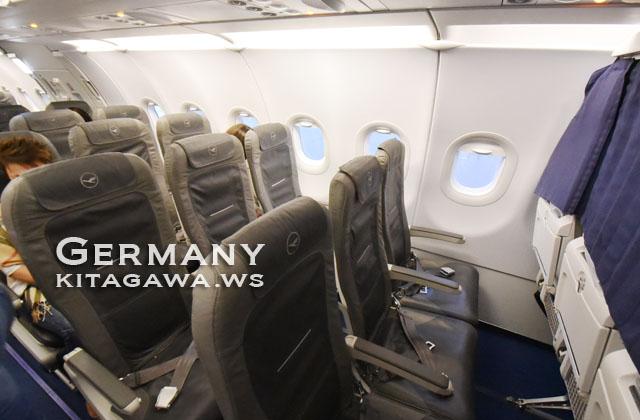 ルフトハンザ航空A321エコノミークラス