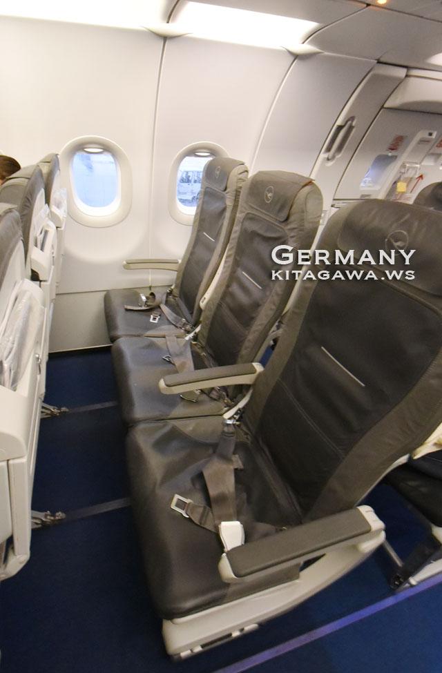 ルフトハンザ航空エコノミークラス