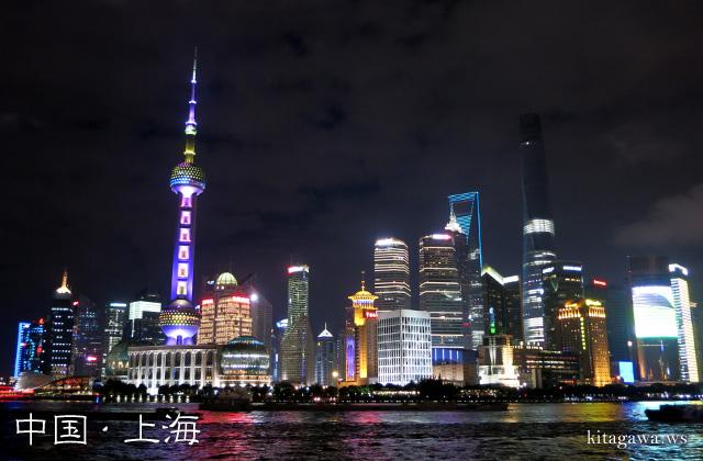 上海テレビタワー 夜景
