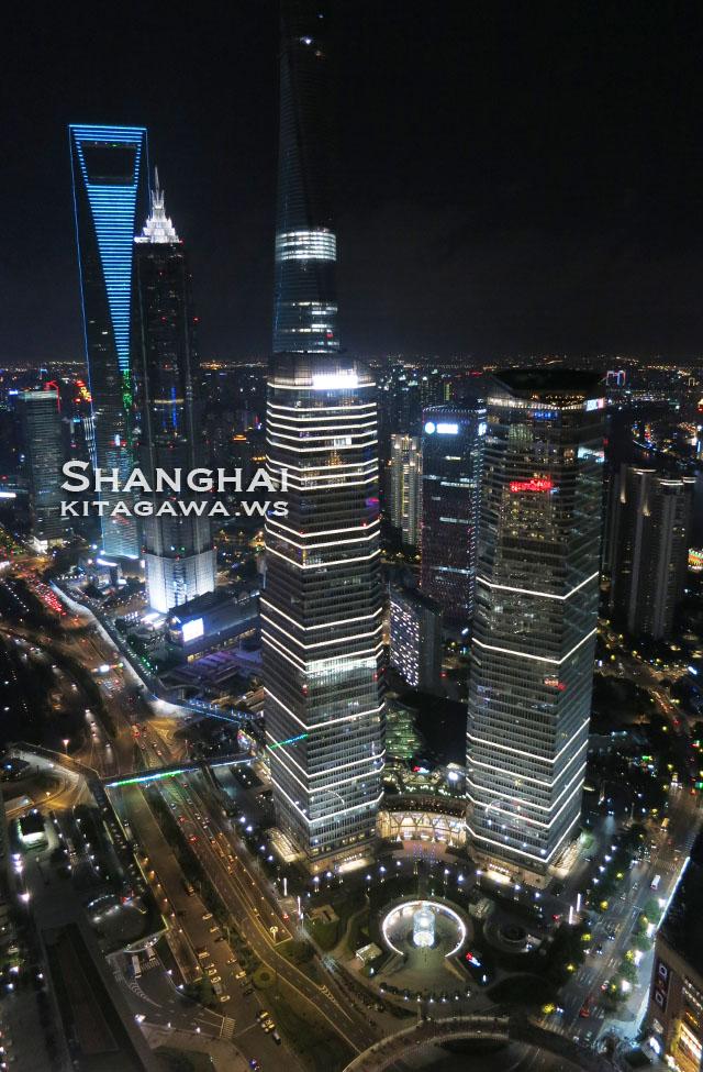 上海 東方明珠塔 夜景