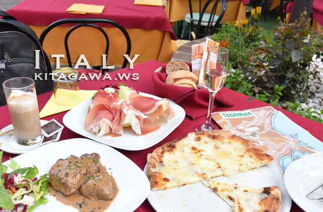 タオルミーナ レストラン