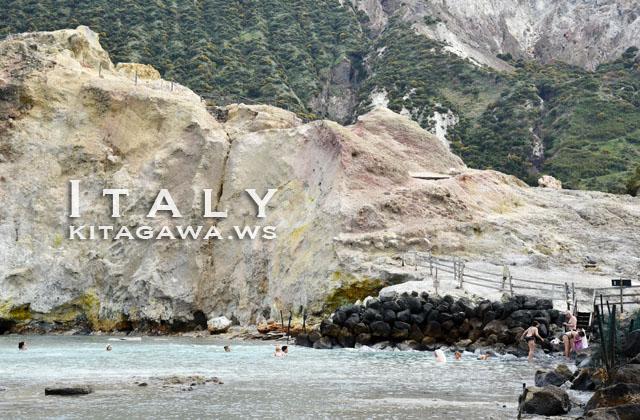ヴルカーノ島 海底温泉