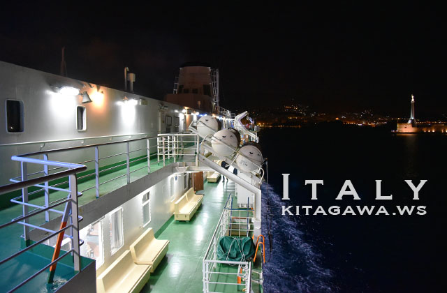 メッシーナ海峡 鉄道連絡船