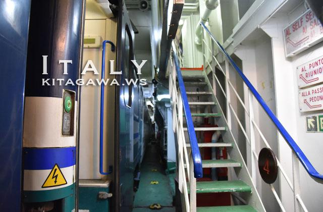 イタリア 鉄道連絡船
