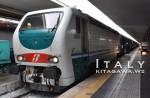 イタリア 夜行列車 シチリア島 トレニタリア メッシーナ海峡 鉄道連絡船