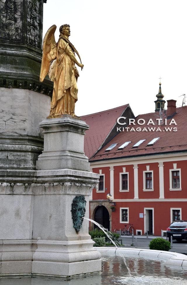 クロアチア 噴水