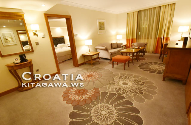 シェラトンザグレブホテル宿泊記 スイートルーム