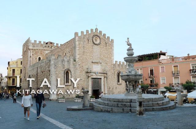 タオルミーナ 大聖堂
