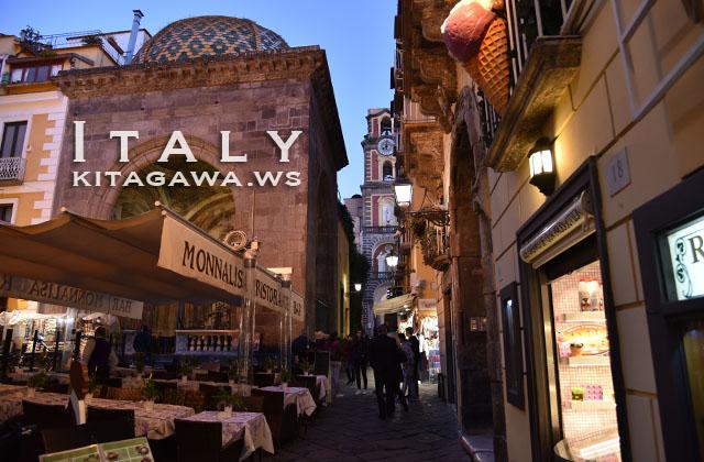 イタリア旅行 ソレント観光