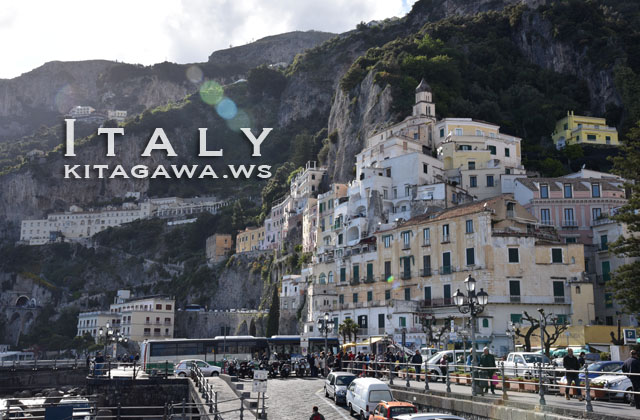 アマルフィ イタリア