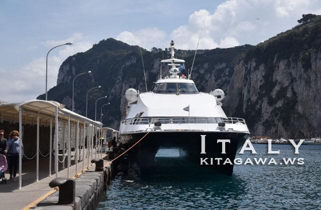 カプリ島 高速船