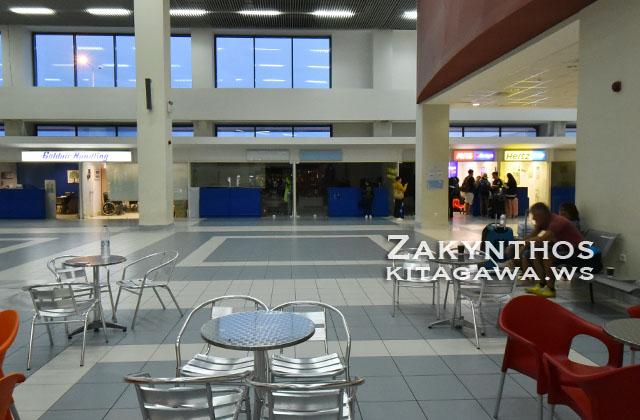 ザキントス島 空港