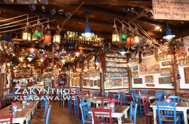 ザキントス島レストラン