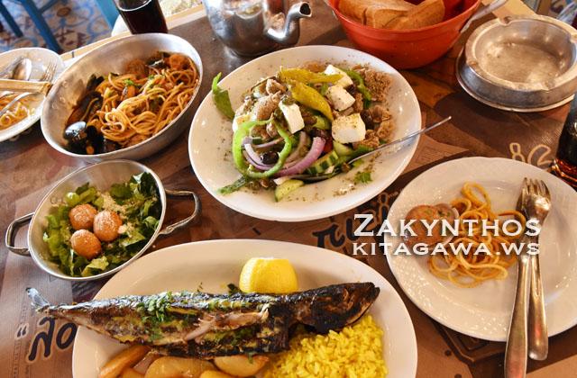 ザキントスタウン レストラン