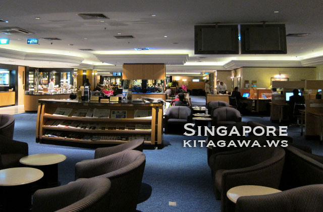 シンガポール航空シルバークリスラウンジ
