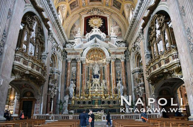 ジェズ ヌォーヴォ教会 Gesù Nuovo