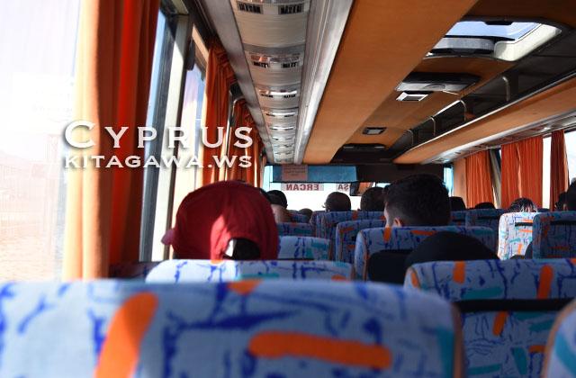北キプロス エルカン 空港バス