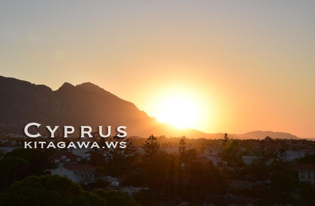 キプロス 日没 サンセット