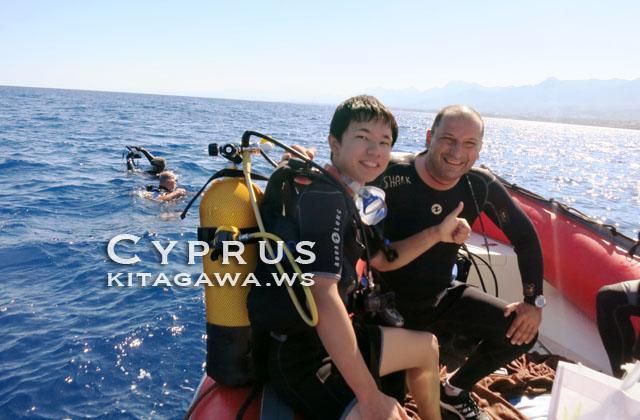 キプロス ダイビング