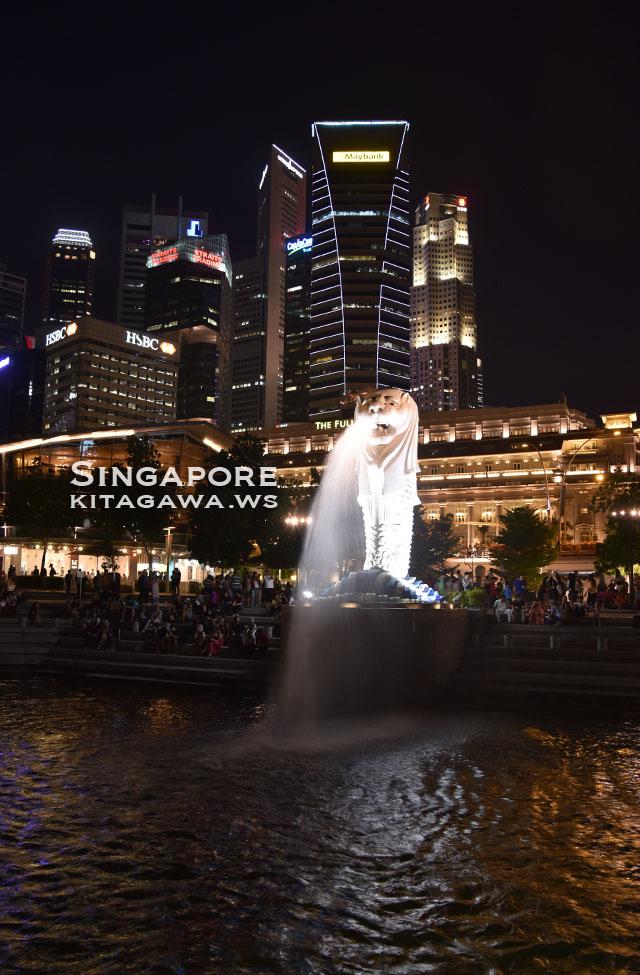 マーライオン シンガポール
