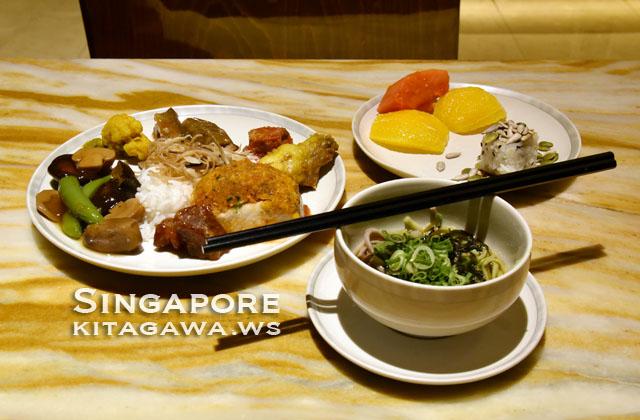 シンガポール航空ビジネスクラスラウンジ