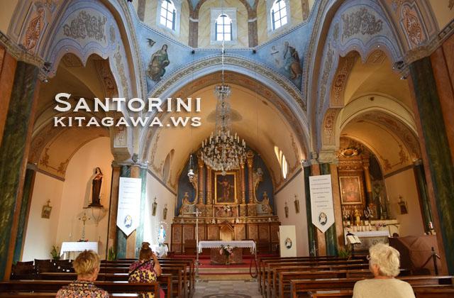 サントリーニ 教会